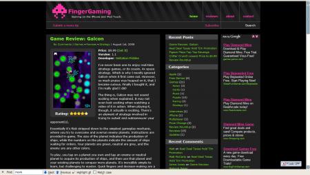 FingerGaming